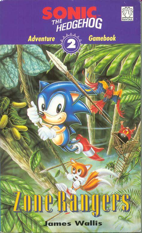 sonic  hedgehog adventure gamebook  zone rangers