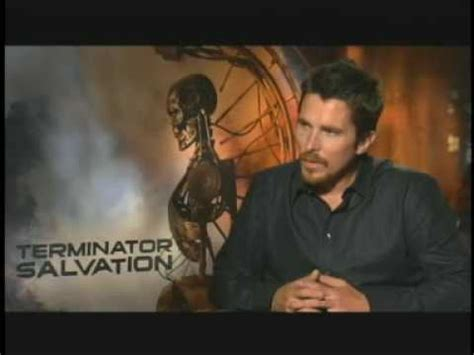 Christian Bale Interview For Terminator Salvation Youtube