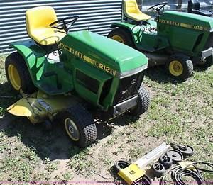 John Deere 212 Garden Tractor Parts Diagram