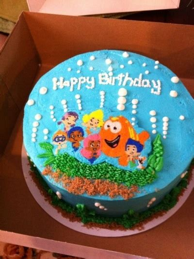 25 best ideas about bubble guppies birthday cake on