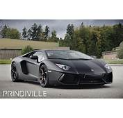 Luxury Lamborghini Cars Aventador Black