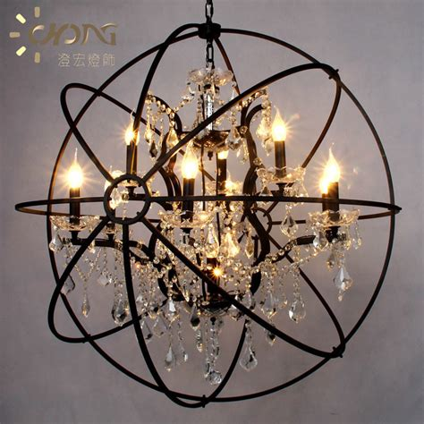 nordic american country spherical chandeliers retro