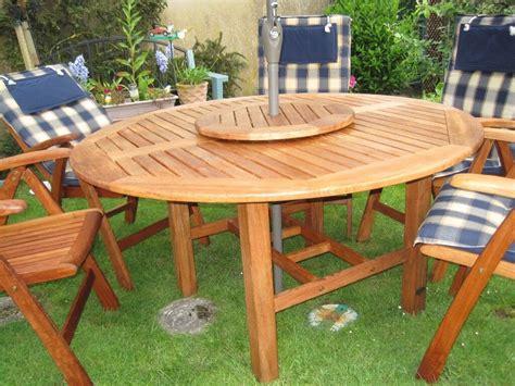 solid teak garden furniture set hartman wooden