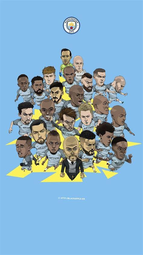 Pin en FC - Manchester City