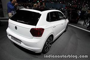 Polo 2018 Gti : 2018 vw polo gti rear three quarters right side at the iaa 2017 ~ Medecine-chirurgie-esthetiques.com Avis de Voitures