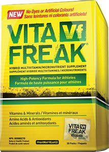 pharmafreak vita freak packs 30 servings