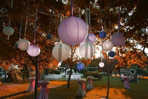 idees deco garden party  eclairage une soiree memorable