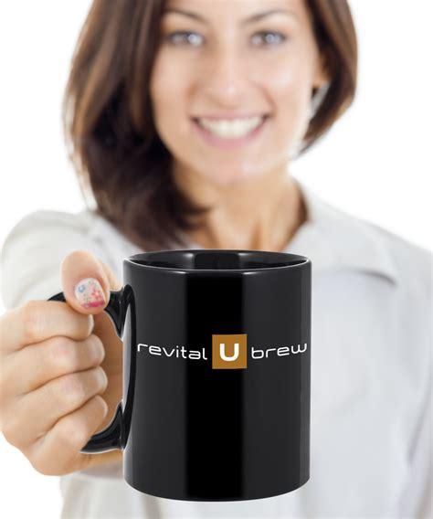The official facebook of revital u. Revital U Brew Coffee Mug Black