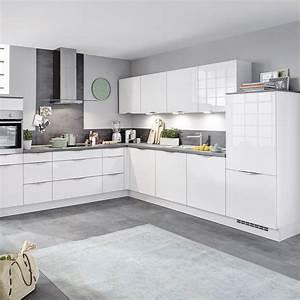 Nobilia einbaukuche focus in weiss von hardeck fur 4999 for Nobilia einbauküche