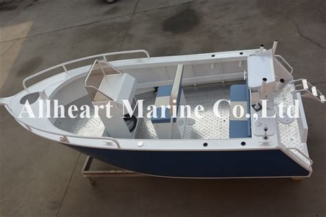 Wholesale Aluminum Boats by Wholesale 5m Aluminum Boat With Center Console For Fishing