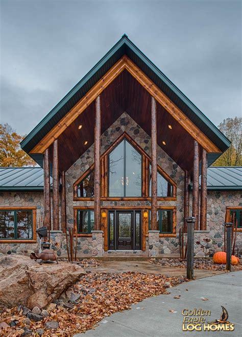 golden eagle log timber homes log home cabin pictures custom hybrid