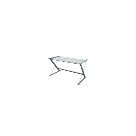 bureau table en verre table d 39 ordinateur de bureau en verre