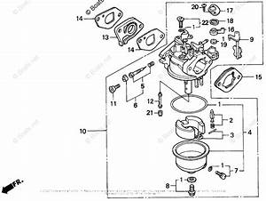 Honda Small Engine Parts Gxv120 Oem Parts Diagram For Carburetor