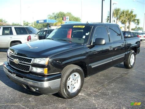 2006 Chevrolet Silverado 1500 Lt Crew Cab In Black