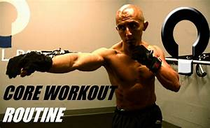 Core workout routine for punching with the ARAZI cable ...