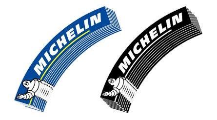 michelin logo bibendum  dekaler vintage wheels  spesialist pa dekk og felg til