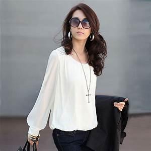 vetement femme women blouses chiffon blouse blusas y With blouse carreaux femme