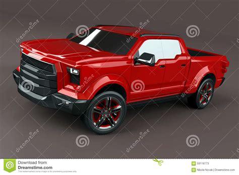 pickup truck concept stock illustration illustration of pickup 59118773