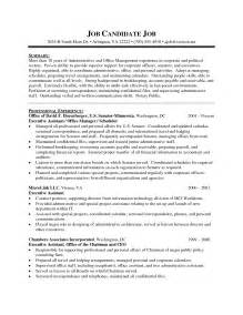 functional executive resume template word free resume sle