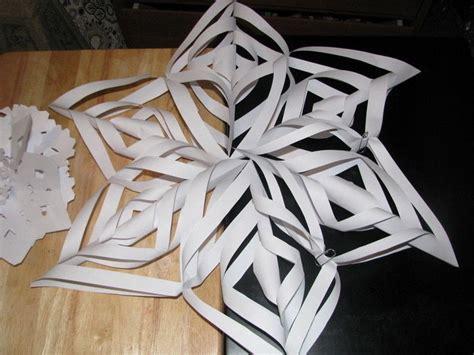 beautiful paper snowflake  snowflake version