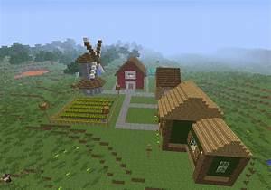 Minecraft Farm by I-Am-CrazyP on DeviantArt
