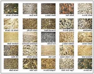 Granite Colors And Names Home Design Ideas