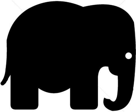 images  elephant head outline
