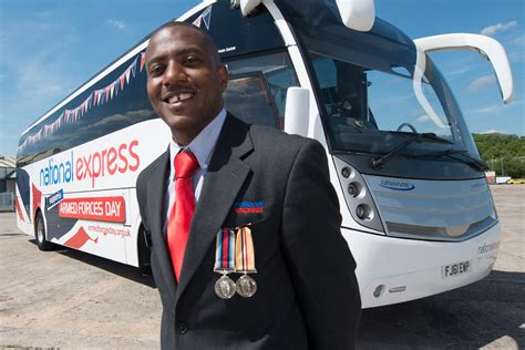National Express Show Their Support For British Troops