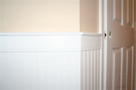 Wainscoting & Chair Rail Beadboard Wainscot Chair Rail