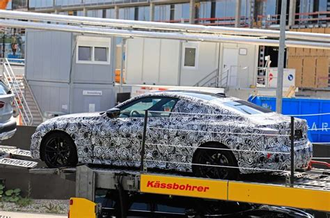 New Bmw Series Coupe Spied Testing Nurburgring Autocar