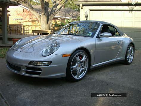 19 x 8 front/19 x 11 rear carrera s aluminum wheels. 2007 Porsche 911 Carrera 4s Convertible 2 - Door 3. 8l Silver / Dark Gray