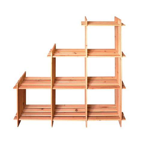 scaffali di legno scaffali in legno calore e praticit 224 nell arredo