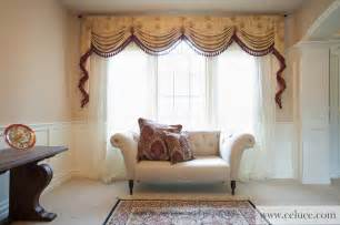 Swag Curtain Ideas For Living Room Versailles Premium Designer Swag Valances Traditional Living Room Seattle By Celuce