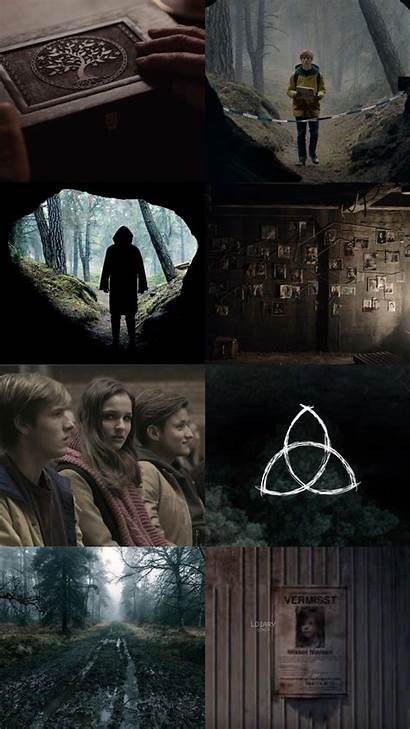 Netflix Dark Wallpapers Iphone Sic Mundus Est