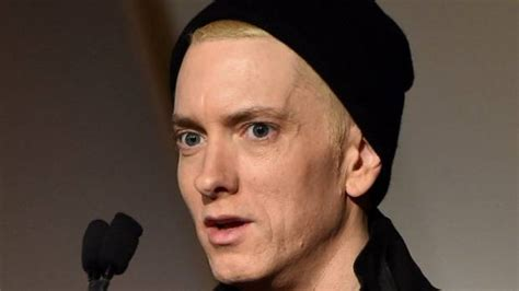 Why Eminem's Face Is Making Headlines