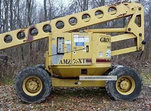 Grove 56 Feet Manlift Amz56xt