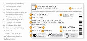 How to read a prescription drug label better life for How to read medication labels