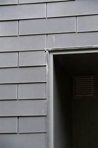 Panneaux Soudes Gris Anthracite : bardage en ardoises eternit ton gris anthracite pose ~ Edinachiropracticcenter.com Idées de Décoration