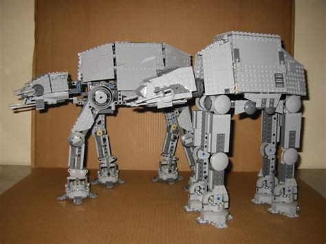 lego wars star walkers motorized