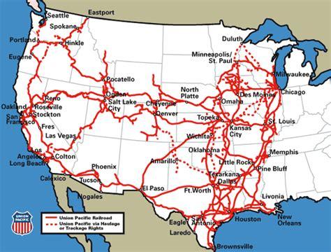 Bnsf Rail Network Map Illinois