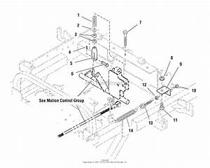 Simplicity Zt2352t  52 U0026quot  Mower Deck Parts Diagram For Motion Control