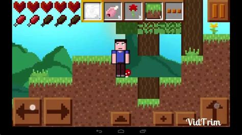 minecraft for android maincraft 2d minecraft android gameplay