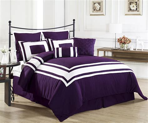 purple bedding sets perfect tone for the season home furniture design