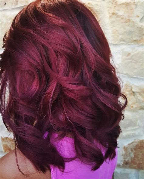 And Burgundy Hairstyles by 21 Bomb Burgundy Hair Colors Hairstyle Guru21 Bold