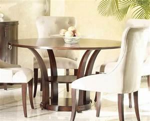 Esstisch Stühle Beige : runder esstisch das bedeutet mehr platz f r alle ~ Markanthonyermac.com Haus und Dekorationen