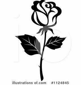 rose clipart black and white – Clipart Download