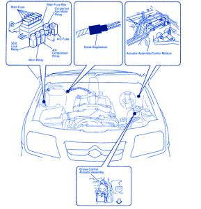 Suzuki Noise Fuse Box Block Circuit Breaker