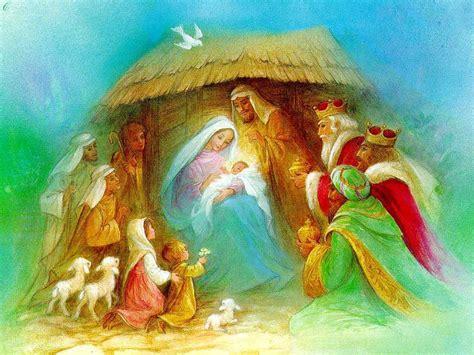 Jesus Birth Images Wallpaper by Happy Birthday Jesus Wallpaper