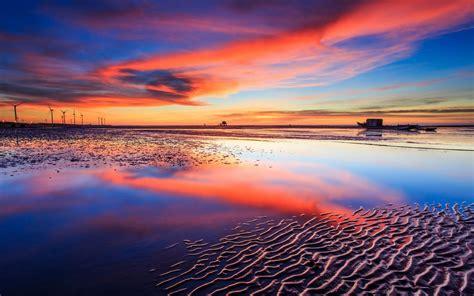 Beautiful Beach Sunsets Wallpaper Free Desktop  I Hd Images
