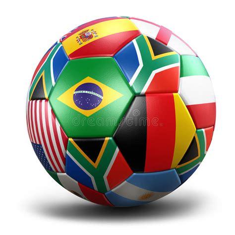 World Cup Soccer Ball Stock Illustration Illustration Of
